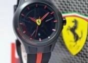 Reloj scuderia ferrari hermosos!!!!!!!, super deportivos