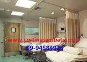 Cortinas hospitalarias en quito ecuador (0994-584-925)