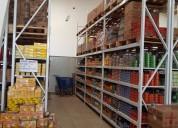 Racks, perchas para bodegas y almacenes carga liviana y pesada