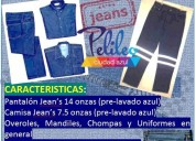 Ropa jeans  de trabajo