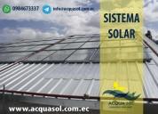 calentadores solares tubulares