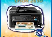 Impresora epson wf 2630 + sistema de tinta continua