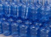 Distribuidores de agua en botellón