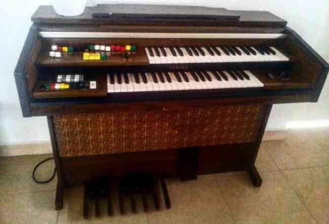 Cambio organo Yamaha