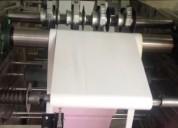 Máquina para hacer rollos de papel bond, químico, térmico