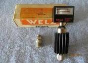 Instrumento de medicion,medidor de potencia welz-portatiles vhf-uhf=
