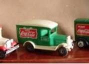 Carritos originales de coca-cola