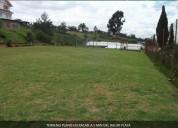 terreno plano ideal para casa de campo, viviendas o edificio, a 5 min. zona comercial racar