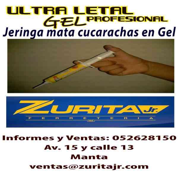 GEL MATA CUCRACHAS. ULTRA LETAL GEL.