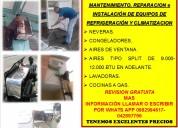 Servicio técnico en refrigeración y climatizacionn