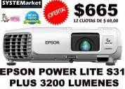 Proyector Epson S31