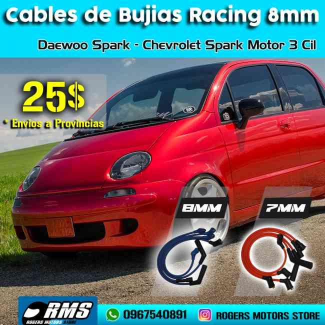 Cables De Bujias De Alto Rendimiento Daewoo Matiz Spark 3