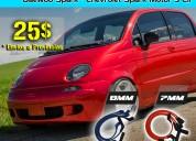 Cables de bujias de alto rendimiento daewoo matiz - spark 3 cilindros