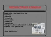Expertos a domicilio 0984135912 reparacion mantenimiento de lavadoras