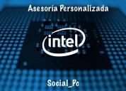 Mantenimiento preventivo de computadoras y asesorías personalizadas
