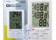 Termometro para distribuidoras farmaceuticas.