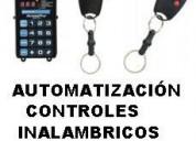 AutomatizaciÓn de controles inalambricos para accesos vehiculares