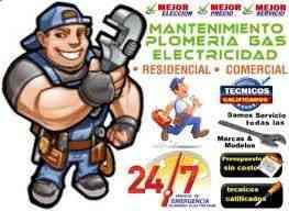 PLOMERO,GASFITERO, FONTANERO 0989456385