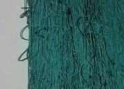 Mallas de nylon con fibra sintetica  resistente para canchasdeportivas