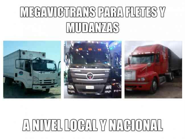 Mudanzas profesional y transporte pesado a nivel nacional.