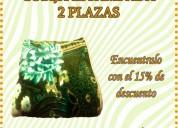 Cobija 2 plazas estampada