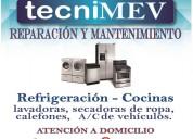 Servicio técnico de electrodómesticos, servicio oportuno y garantizado a domicilio.
