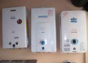 Reparación y mantenimiento de calefones a domicilio.