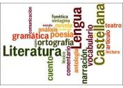 Nivelacion supletorios, examenes: lengua-literatura, a. verbal. clases a domicilio