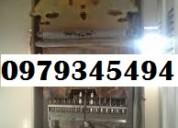 Tecnico de todo tipo de calefones. 0979345494