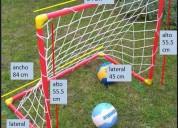 Arcos de fÚtbol para niÑos en pvc