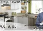 Reparación y mantenimiento de lavadoras , secadora, refrigeradores y  calefones en otavalo