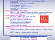 Teacher training 2017