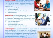 Summer english courses