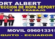 Confeccion de ropa deportiva y de trabajo