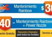 Servicio técnico y de mantenimiento para rainbow