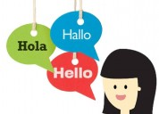 Traducciones: inglés o alemán, con entrega casi inmediata