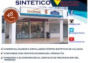 Venta e instalaciÓn de cÉsped sintÉtico en todo el ecuador