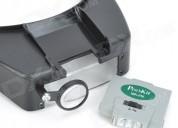Lupa-lente de aumento (de frente) proskit ma-016 u$s 20