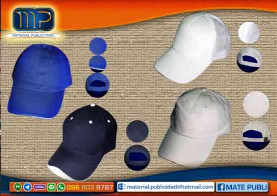camisetas gorras... productos publicitarios