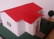 Se realizan planos en autoc3d  maquetas 0994237567 -2861383