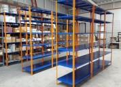 Venta de perchas metalicas para almacenaje de mercaderia