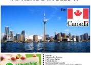 curso de inglés en canadá!!