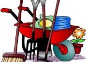 Jardineria , canchas y mantenimiento  de areas verdes