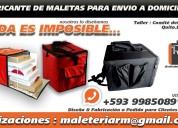Fabricantes de maleteria en general mochilas maletas coolers