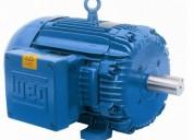 Motor weg 15 hp trifasico 220v, 1750 rpm,tefc