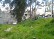 Vendo terreno en quito por san isidro del inca, al norte