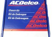 Kit de embrague chevrolet aveo 1.4 - 1.6 (todos los años), marca acdelco.