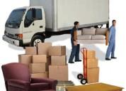 Flota de camiones de alquiler para fletes y mudanzas