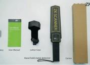 detector de metales portátil zk-d100s