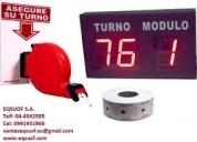 Sistema de turno turnomatico - pantalla de turno - turnero